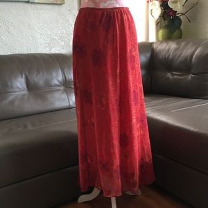 Clio Burnt Orange Skirt
